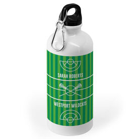 Girls Lacrosse 20 oz. Stainless Steel Water Bottle - Field