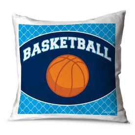 Basketball Throw Pillow Basketball