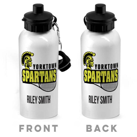 Tennis 20 oz. Stainless Steel Water Bottle - Custom Logo