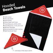 Wrestling Hooded Towel - Eat Sleep Wrestle