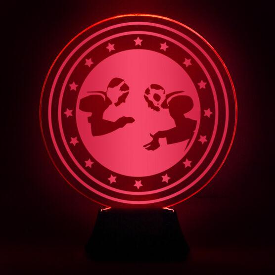 Wrestling Acrylic LED Lamp Takedown