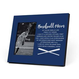 Baseball Photo Frame - Baseball Mom Poem