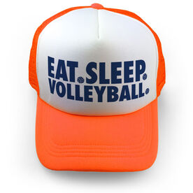 Volleyball Trucker Hat - Eat Sleep Volleyball