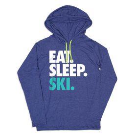 Men's Skiing Lightweight Hoodie - Eat Sleep Ski