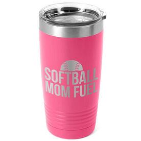 Softball 20oz. Double Insulated Tumbler - Softball Mom Fuel