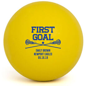 Girls Lacrosse Ball - First Goal