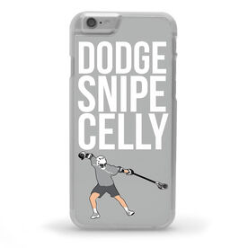 Guys Lacrosse iPhone® Case - Dodge Snipe Celly