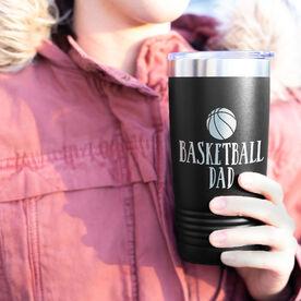 Basketball 20oz. Double Insulated Tumbler - Basketball Dad