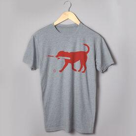 Baseball Tshirt Short Sleeve Buddy The Baseball Dog