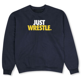 Wrestling Crew Neck Sweatshirt - Just Wrestle