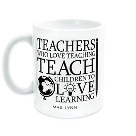 Teacher Coffee Mug - Love Teaching