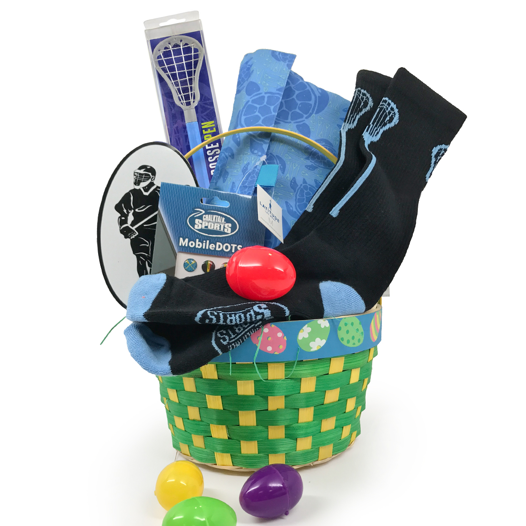 Lax Time Guys Lacrosse Easter Basket