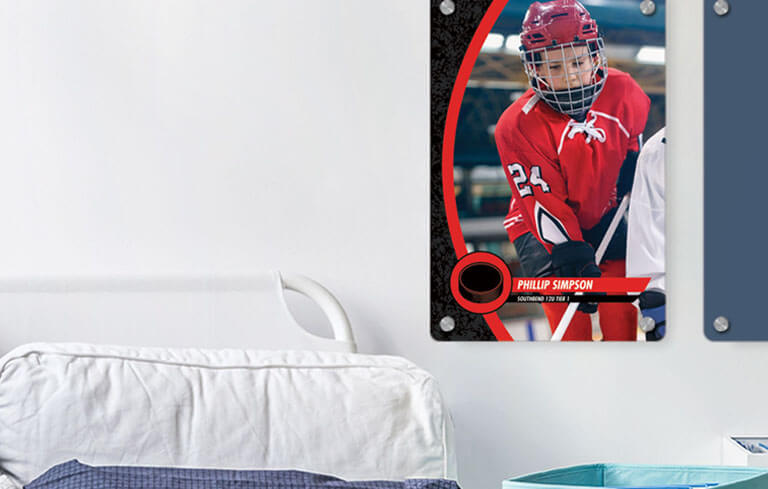 Personalized Photo Panel of Your Athlete