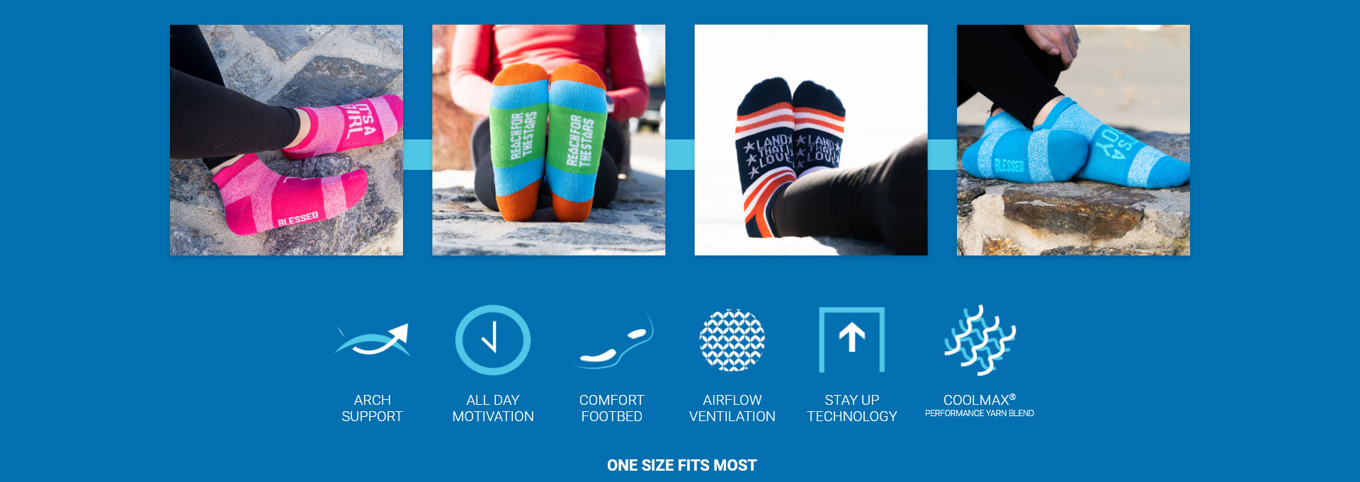 Socrates Socks - Inspirational socks
