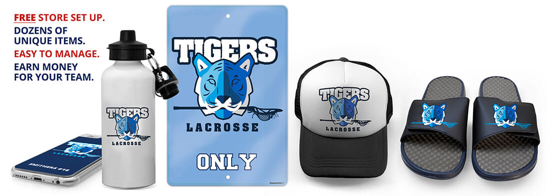 Your Team Logo on Custom Apparel, Accessories and Gifts