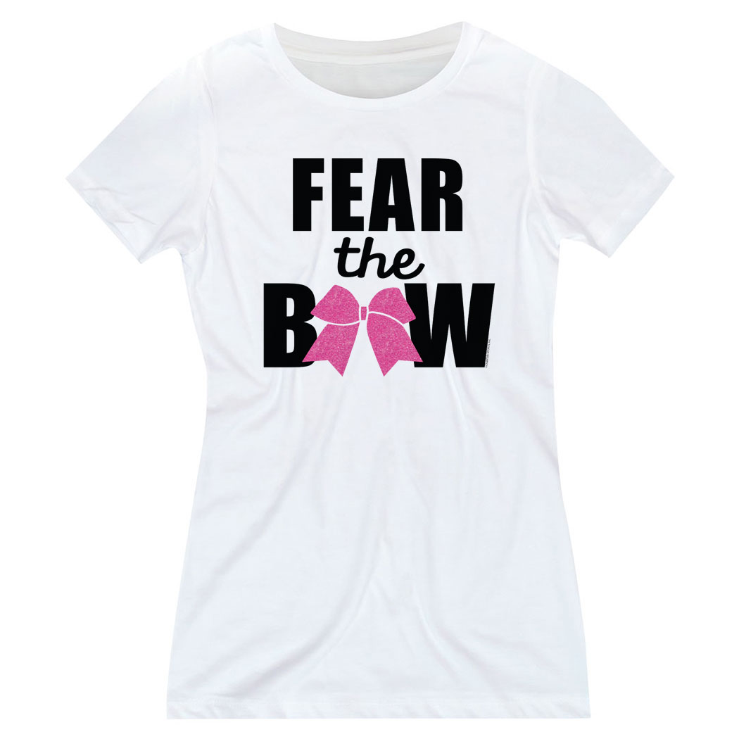 Cheerleading Women's Everyday Tee - Fear the Bow