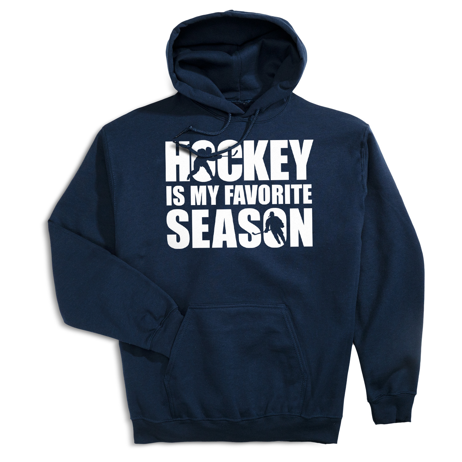 Hockey Hooded Sweatshirt - Hockey Is My Favorite Season