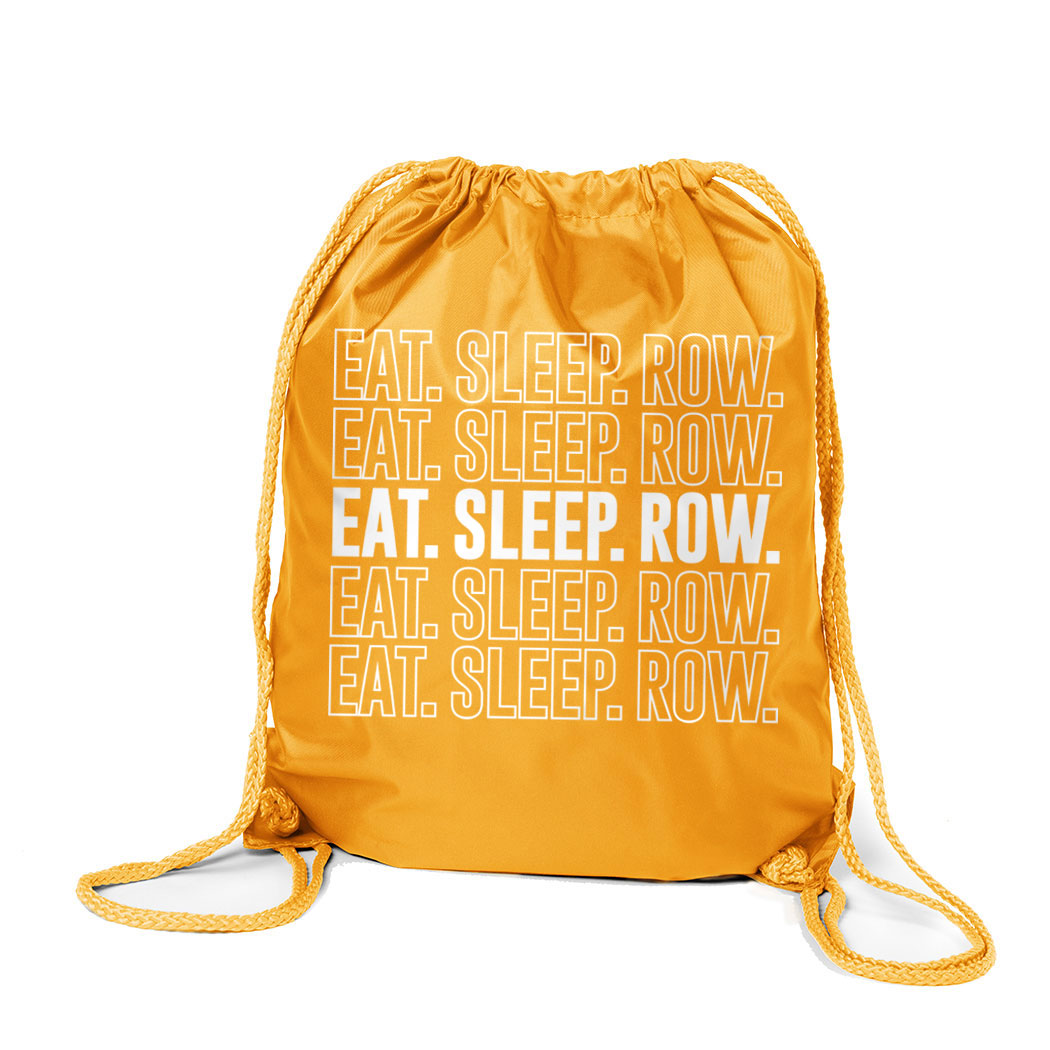 Crew Sport Pack Cinch Sack Eat. Sleep. Row.
