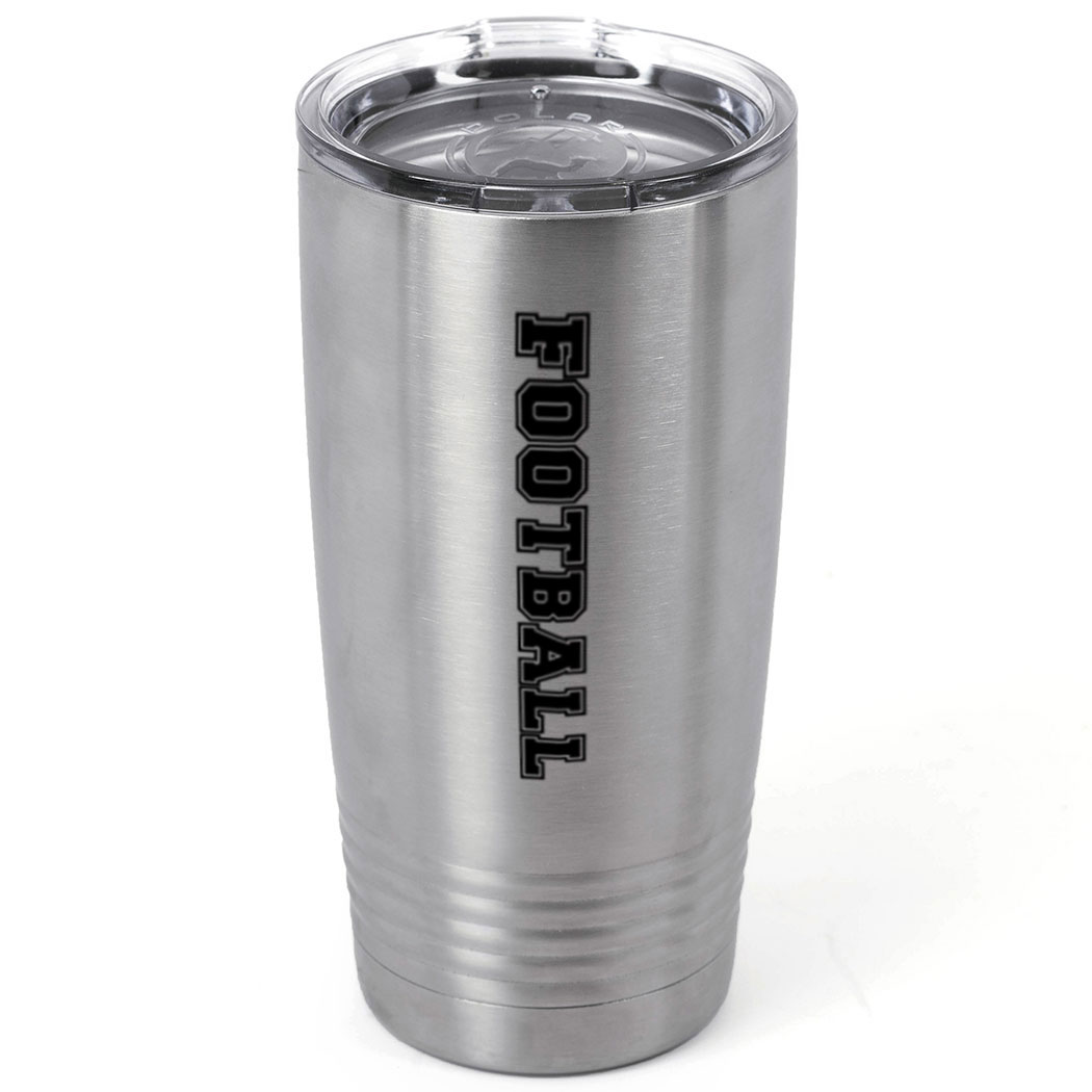 Football 20 oz. Double Insulated Tumbler - Football