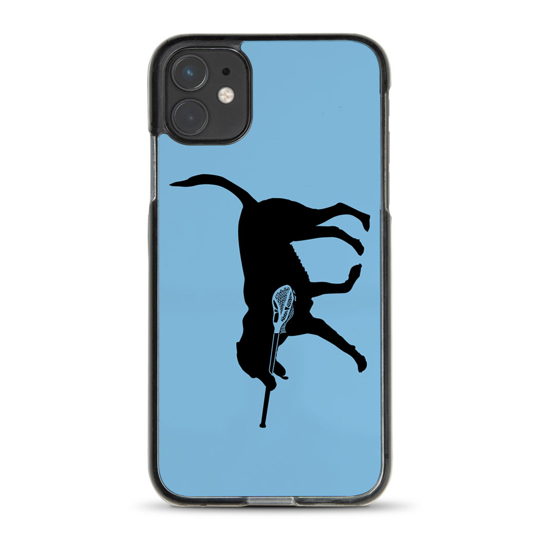 Guys Lacrosse iPhone® Case - Max The Lax Dog