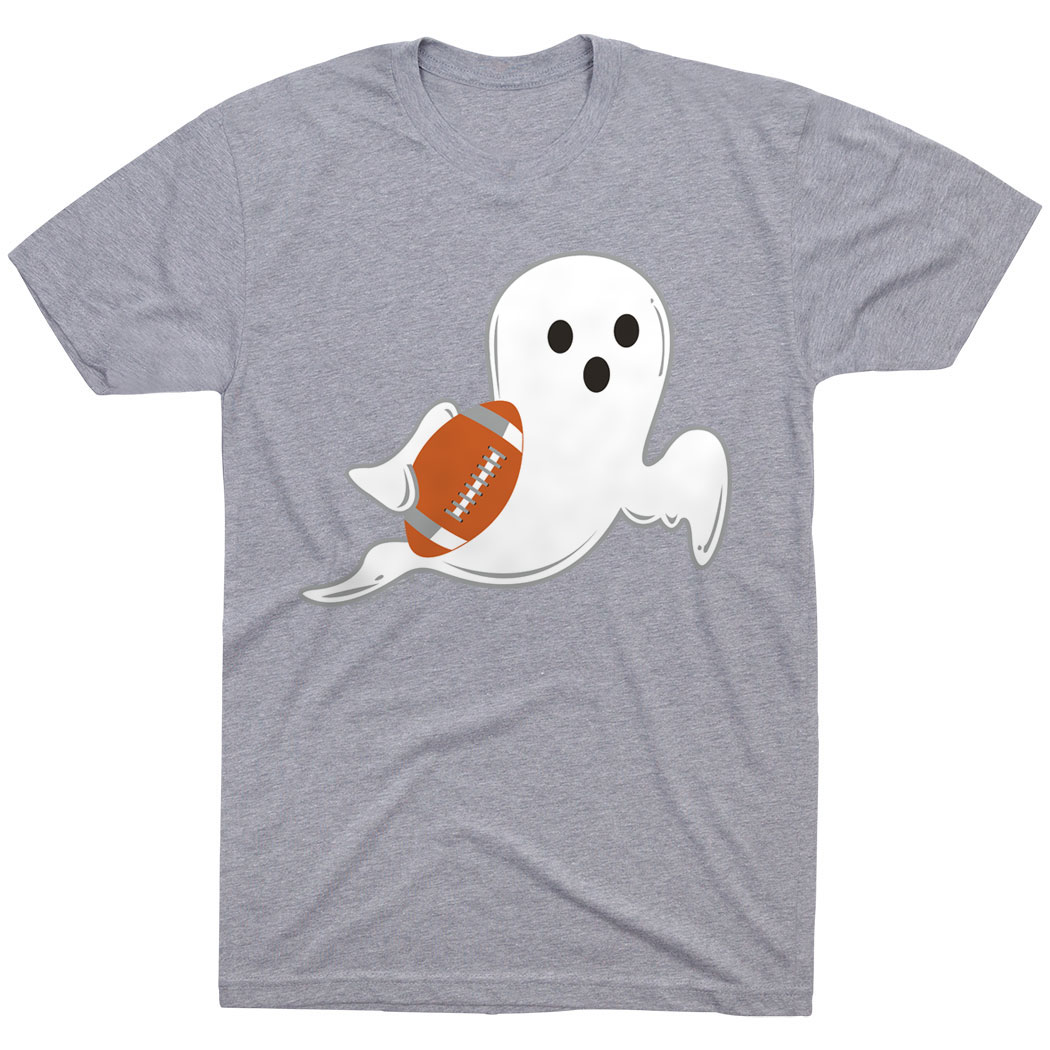 Football Tshirt Short Sleeve Football Ghost - Personalization Image