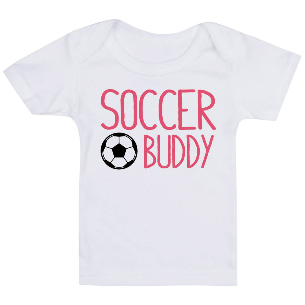 Soccer Baby T-Shirt - Soccer Buddy - Personalization Image