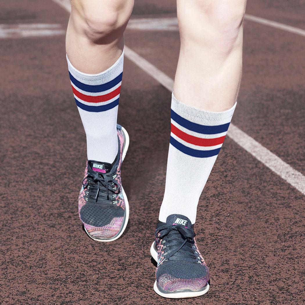 Running Vollyball Sports Outdoor Tennis Mid Calf Netball Gym Cycling Grip Active Softer Multipurpose Mid Leg Socks Unisex Football GAA Gaelic Training