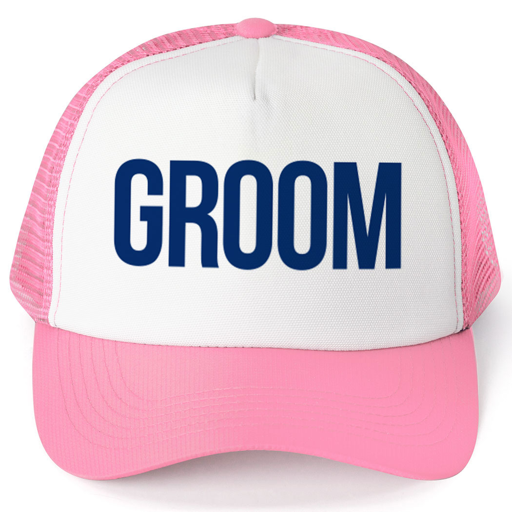 Personalized Trucker Hat - Groom - Personalization Image
