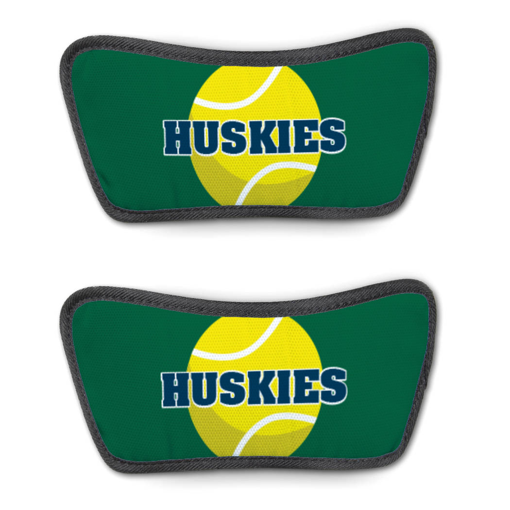 Tennis Repwell® Sandal Straps - Tennis Ball With Text