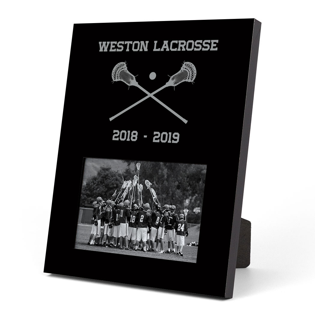 Guys Lacrosse Photo Frame - Team
