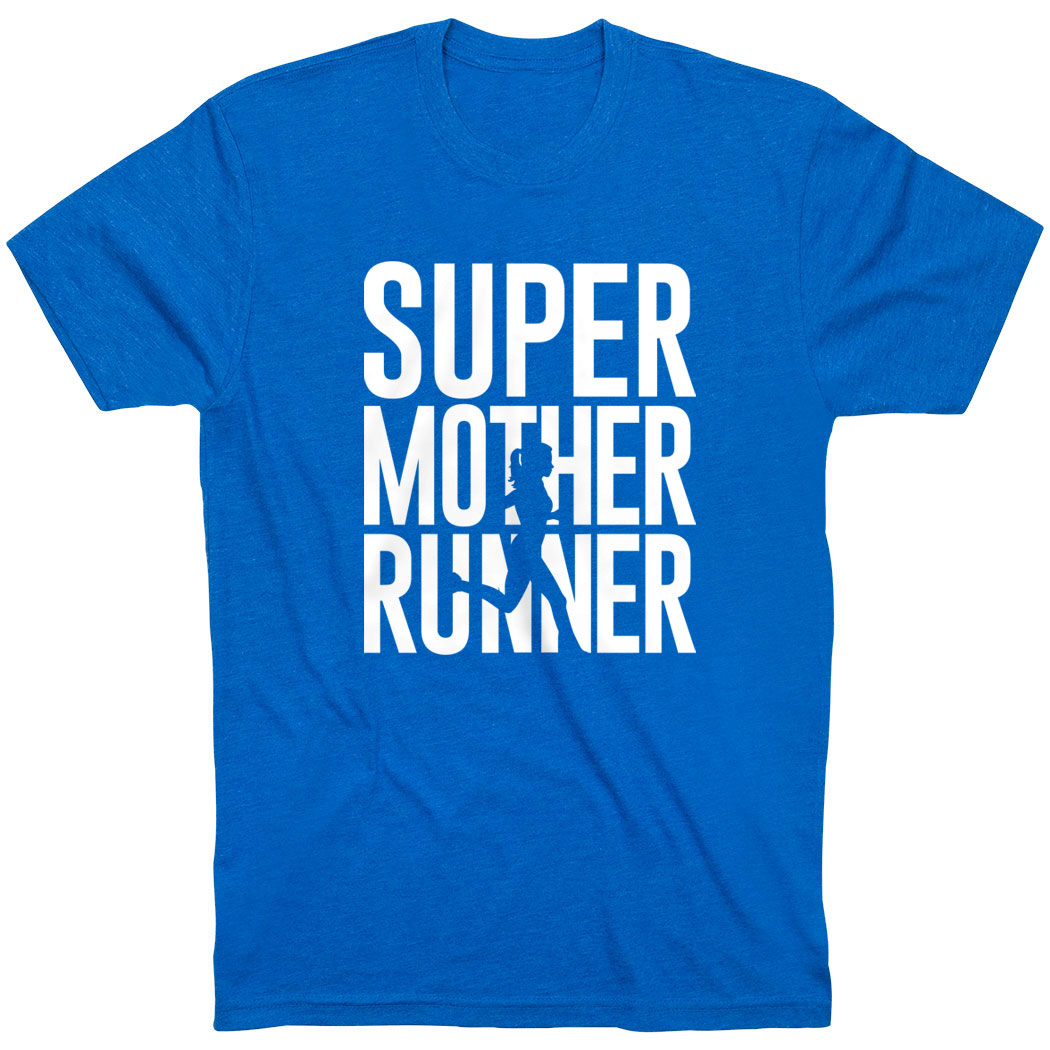 Running Short Sleeve T-Shirt - Super Mother Runner