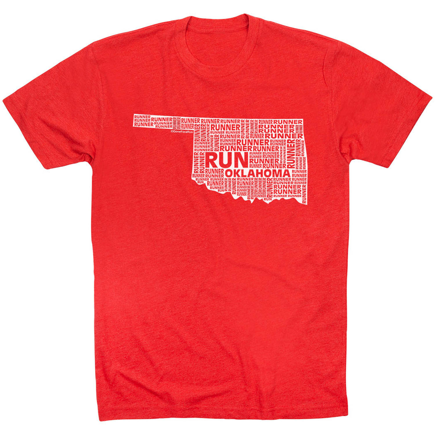 Running Short Sleeve T-Shirt - Oklahoma State Runner
