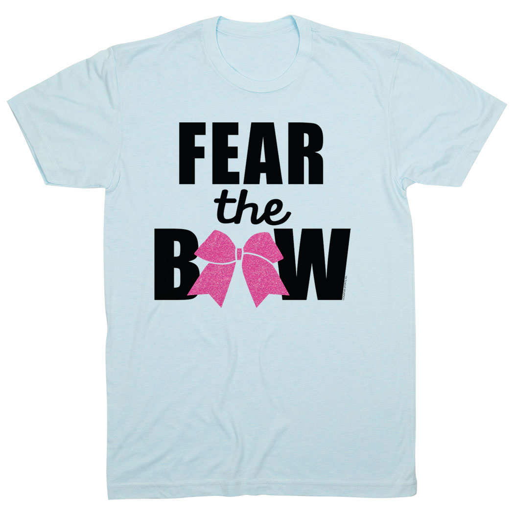 Cheerleading Tshirt Short Sleeve Fear the Bow
