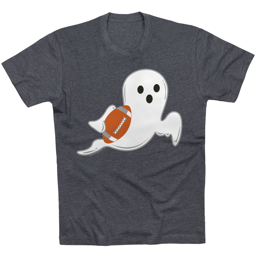 Football Tshirt Short Sleeve Football Ghost