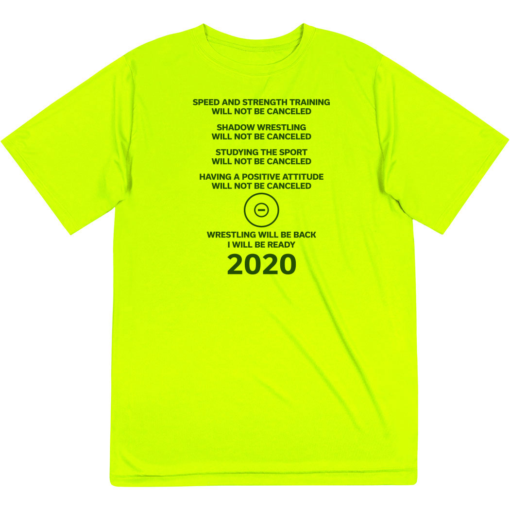 Wrestling Short Sleeve Performance Tee - Wrestling Will Be Back 2020