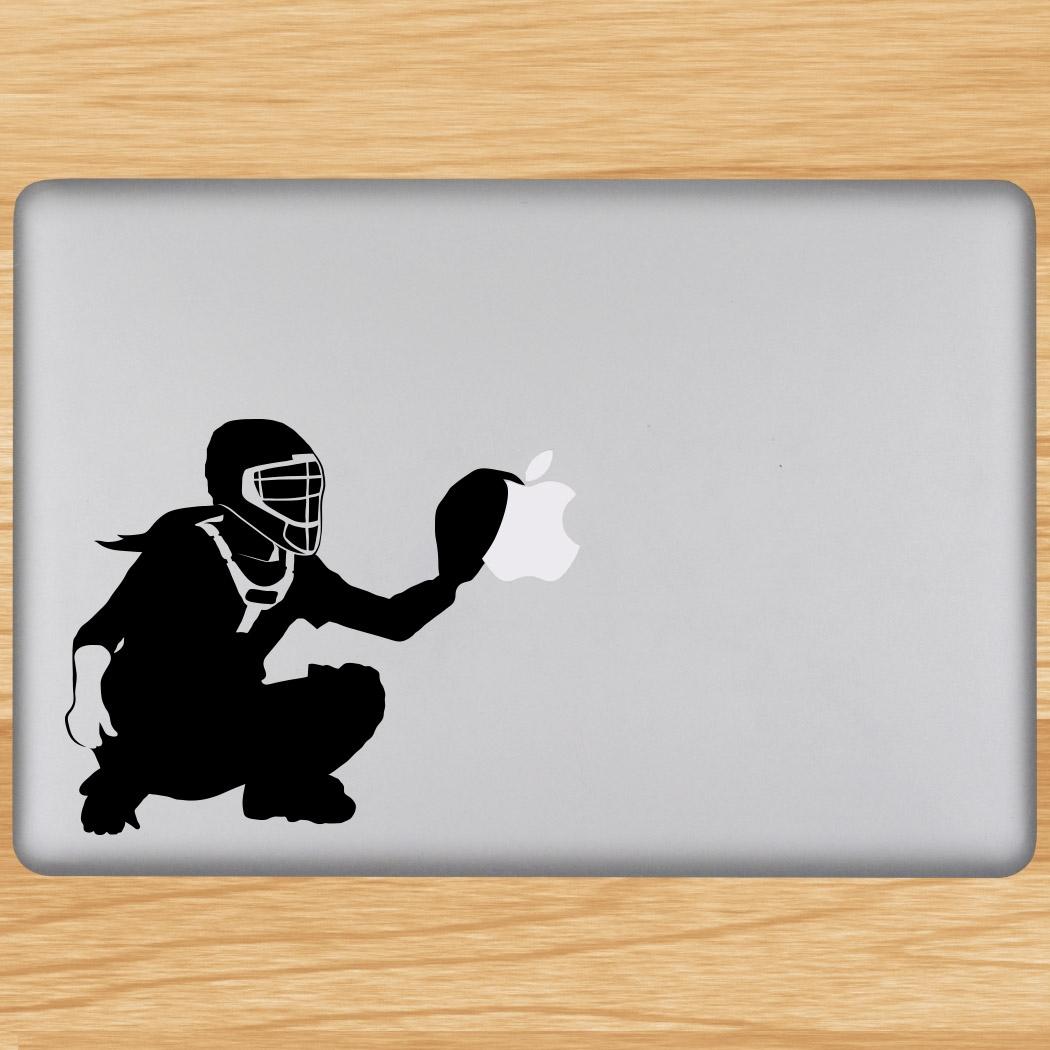 Softball catcher removable chalktalkgraphix laptop decal softball catcher removable chalktalkgraphix laptop decal click to enlarge amipublicfo Choice Image