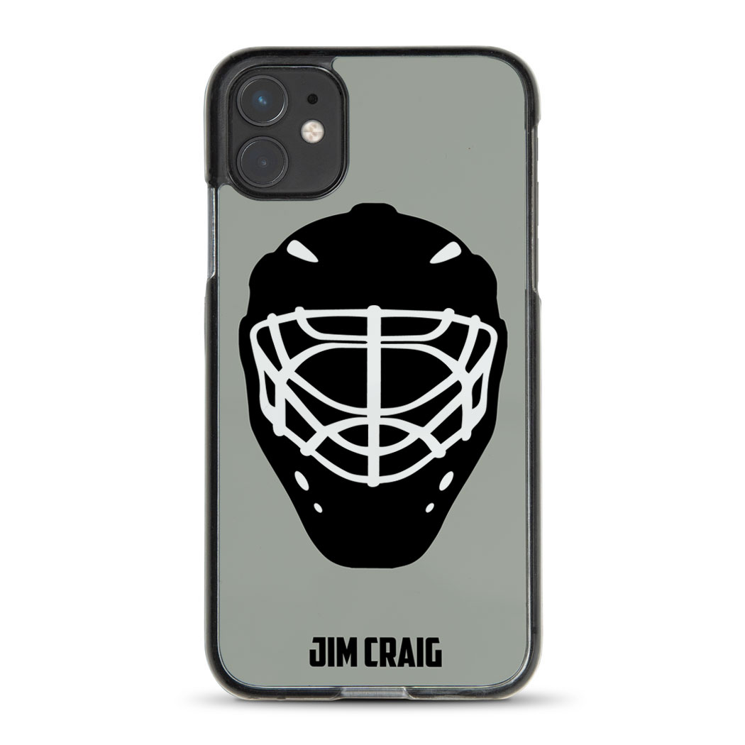 Hockey iPhone® Case - Personalized Goalie Mask