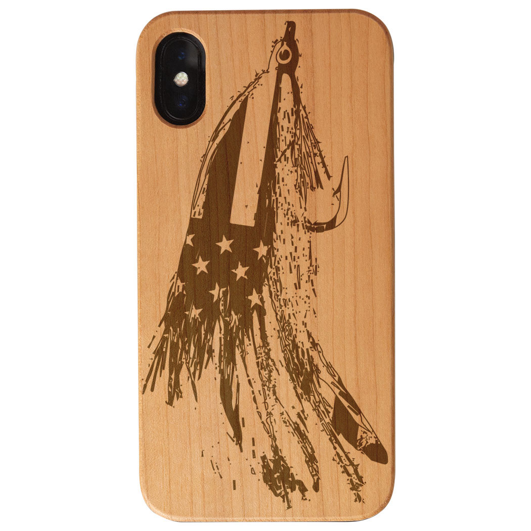 Fly Fishing Engraved Wood IPhone® Case - American Lefty