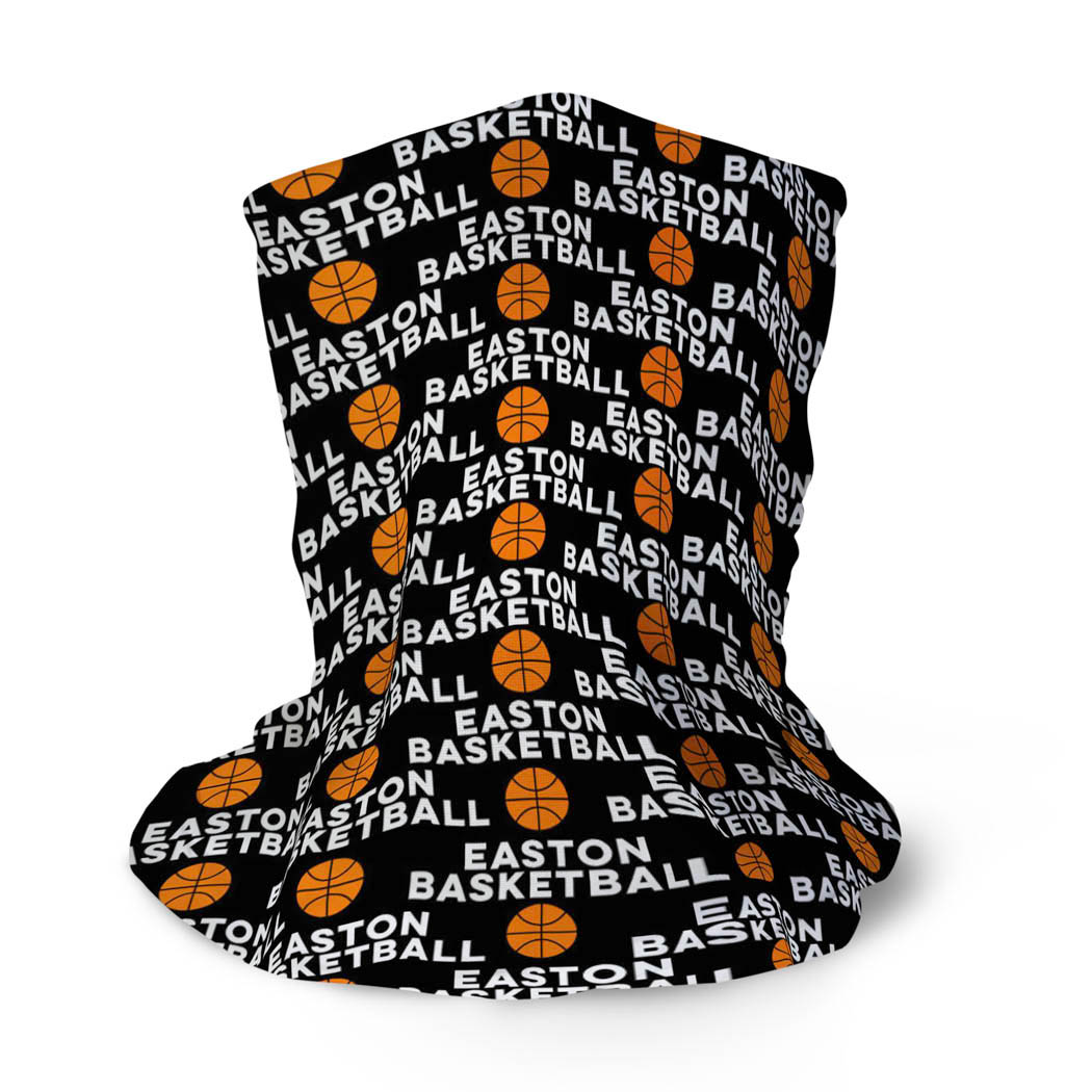 Basketball Multifunctional Headwear - Custom Team Name Repeat RokBAND