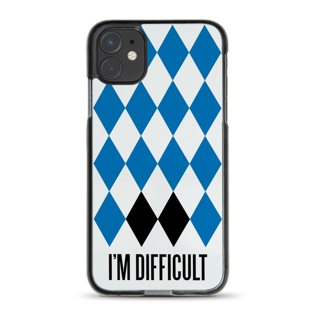 Skiing & Snowboarding iPhone® Case - I'm Difficult