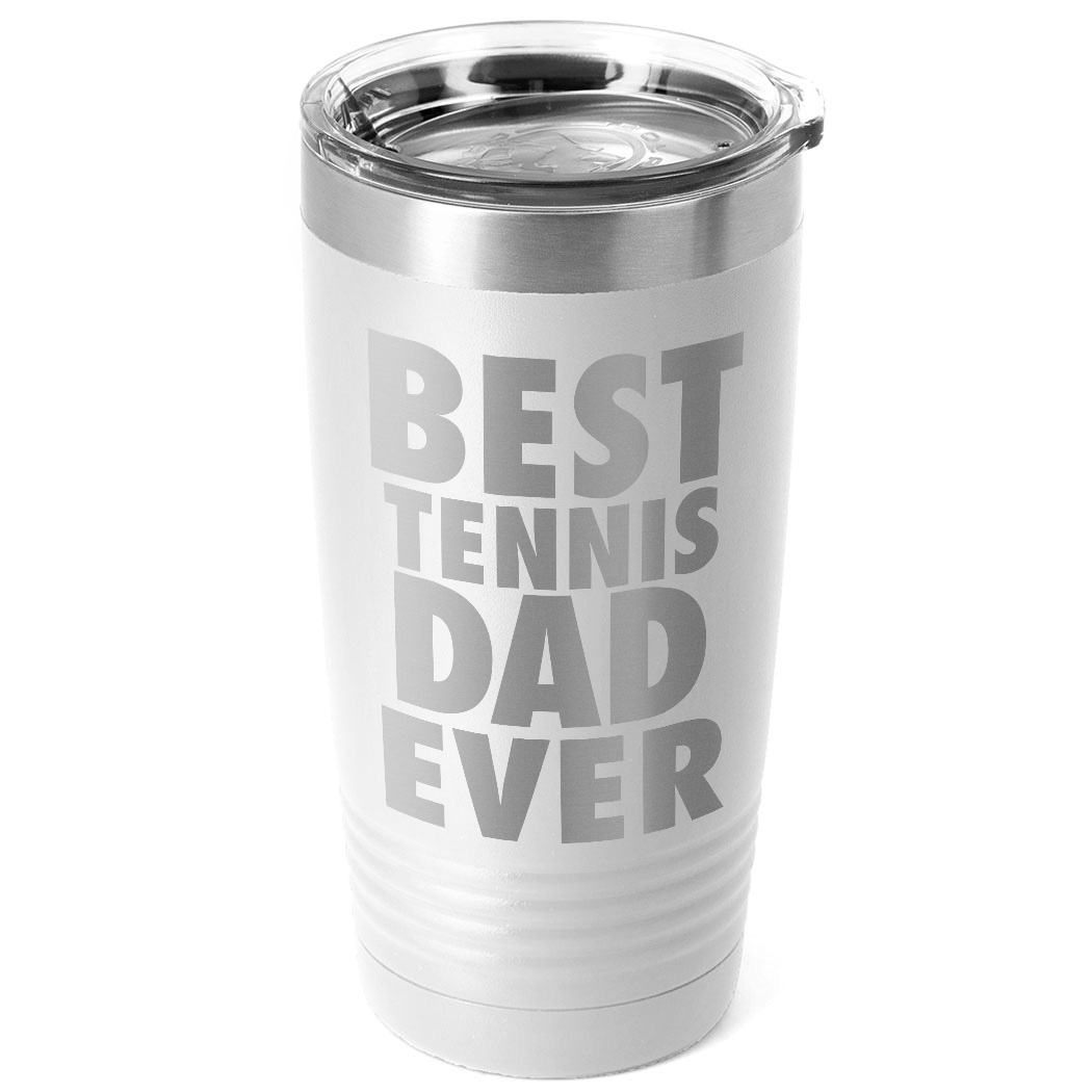Tennis 20 oz. Double Insulated Tumbler - Best Dad Ever