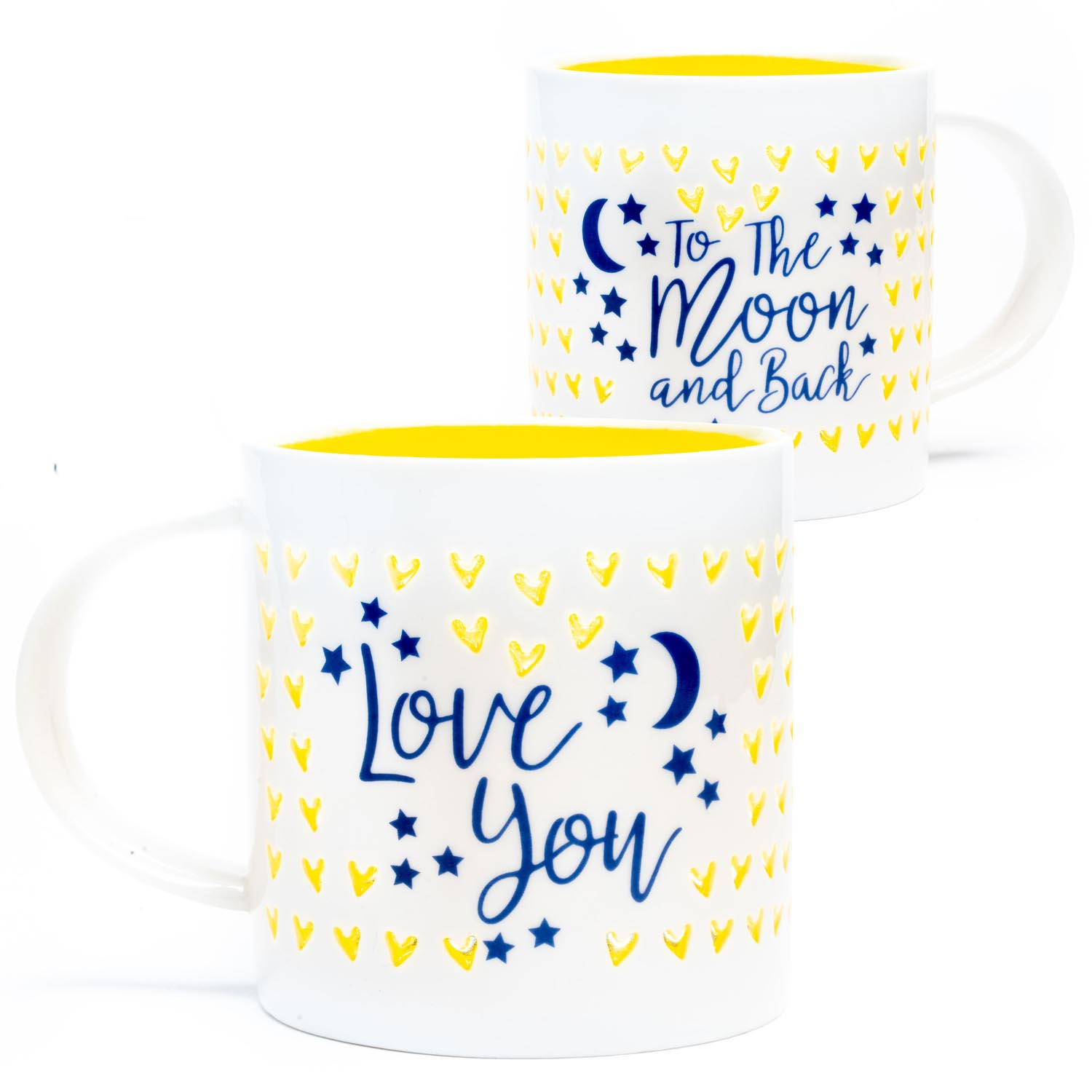 Soleil Home™ Porcelain Mug - Love You to The Moon and Back