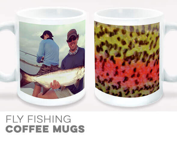 Fly Fishing Coffee Mugs