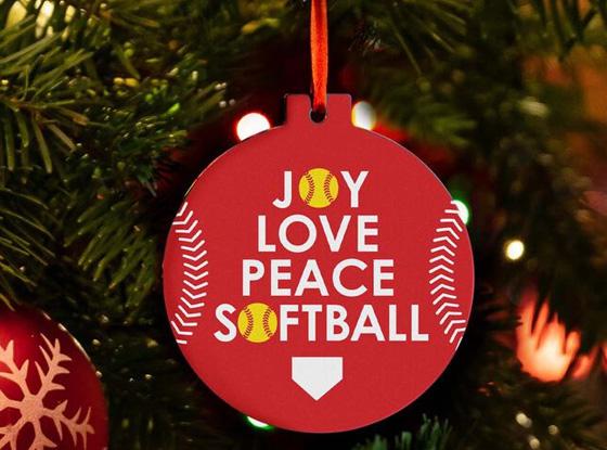 Shop All Softball Ornaments