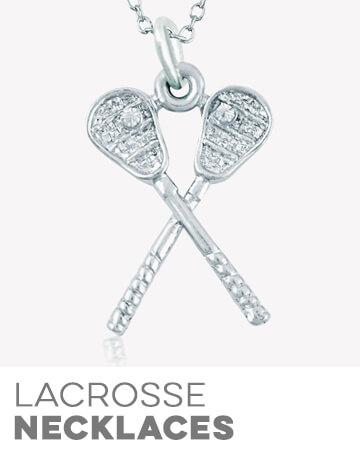 Girls Lacrosse Necklaces