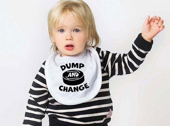 Dump and Change Hockey Bib