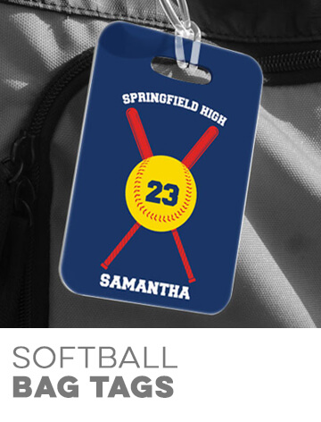 Softball Bag Tags