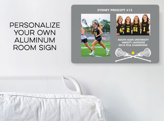 Shop our Personalized Room Signs