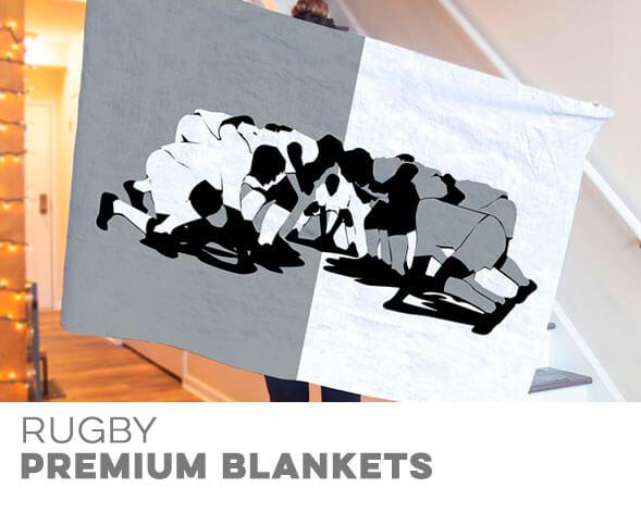 Rugby Premium Blankets