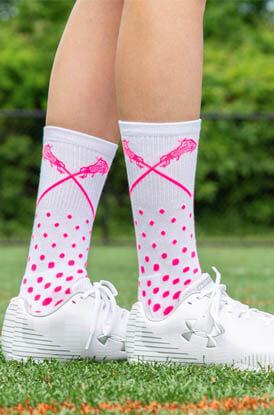 Girls Lacrosse Socks